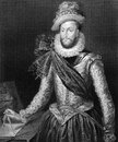 Walter raleigh on engraving from english aristocrat writer poet soldier courtier and explorer engraved by h robinson and published Stock Photos
