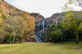 Walter sisulu national botanical garden waterfall in in roodepoort near johannesburg Royalty Free Stock Photography