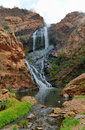 Walter sisulu national botanical garden waterfall in in roodepoort near johannesburg Stock Image