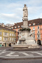 Walther monument bolzano Stock Photography