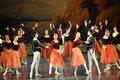 The waltz dance-ballet Swan Lake Royalty Free Stock Photo