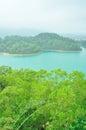 Wangbao reservoir in jintai temple zhuhai Stock Photo