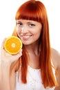 Wanna orange? Royalty Free Stock Image