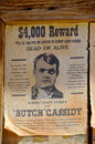 Wanted robert leroy parker known as butch cassidy tucson az april was an american train bank robber and leader of the wild bunch Stock Photo