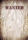 Wanted vintage poster dead or alive space for text Stock Photos