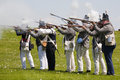 War of 1812 Reenactment Stock Photography