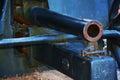 War cannon, detail, Castello, Conegliano Veneto Royalty Free Stock Photo