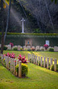 War cemetery second world commonwealth at kandy formerly known as pitakande military Royalty Free Stock Photography