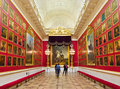 War gallery hermitage saint petersburg russia Stock Image