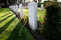 War graves Royalty Free Stock Image