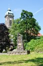 War memorial in castle stolpen in saxony Stock Photography