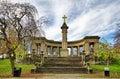 War memorial in Greenhead park Royalty Free Stock Photo