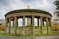 War memorial in Greenhead Park, Huddersfield, Yorkshire, England Royalty Free Stock Photo