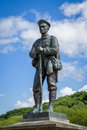 War Memorial in Ironbridge Shropshire Royalty Free Stock Photo