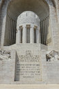 War memorial in nice france tribute Stock Images