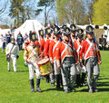 War reenactment nottingham uk may at wollaton park Stock Photos