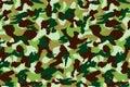 War universal nature camouflage seamless pattern