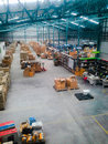 Warehouse a in company Royalty Free Stock Photos