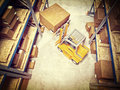 Warehouse d image of classic Royalty Free Stock Images