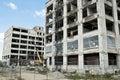 Warehouse Demolition Royalty Free Stock Photo