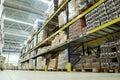 Warehouse food depot Royalty Free Stock Photo