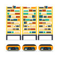 Warehouse goods pallet Royalty Free Stock Photo