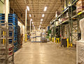 Warehouse of a grocery store Stock Photo