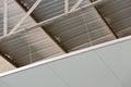 Warehouse insulator installation Stock Photography