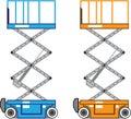 Warehouse lift vector