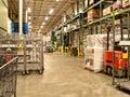 Warehouse receiving area Royalty Free Stock Photo
