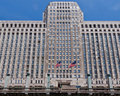 Waren-Piazza-Gebäude Chicago Lizenzfreie Stockfotos