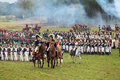 Warlords borodino moscow region september reenactment of the borodino battle between russian and french armies in at its th Royalty Free Stock Image