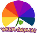 Warm colours Royalty Free Stock Image