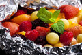 Warm fruit salad Royalty Free Stock Photo