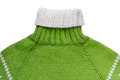 Warm Green Woolen Knitted Swea...