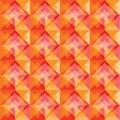 Warm square background pattern