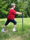 Warm-up exercises Royalty Free Stock Photo
