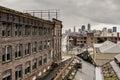 Warner & Swasey Overlooking Cleveland, Ohio Royalty Free Stock Photo