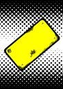 Warning board vector Royalty Free Stock Photo