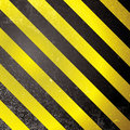 Warning grunge stripe Royalty Free Stock Photo