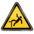 Warning of risk of falls
