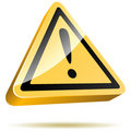 Warning sign Royalty Free Stock Photography