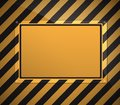 Warning sign background Royalty Free Stock Photo