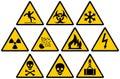 Warning Signs Royalty Free Stock Photo