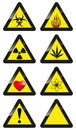 Warning signs vector set of Stock Photos