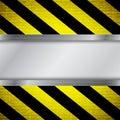 Warning stripe background Royalty Free Stock Photo