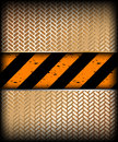 Warning stripe with gold texture. Vector Royalty Free Stock Photo