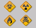 Warning symbol Royalty Free Stock Photo