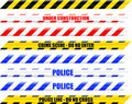 Warning Tape - Seamless Vector Royalty Free Stock Image