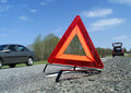 Warning Triangle Stock Photography